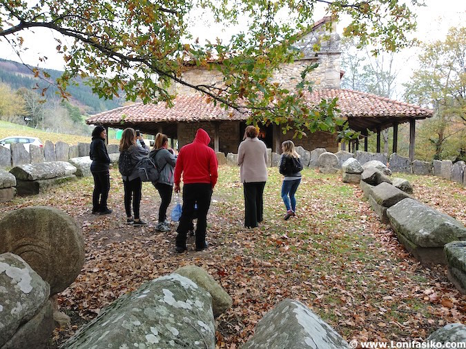 necrópolis Argiñeta Elorrio visitas guiadas