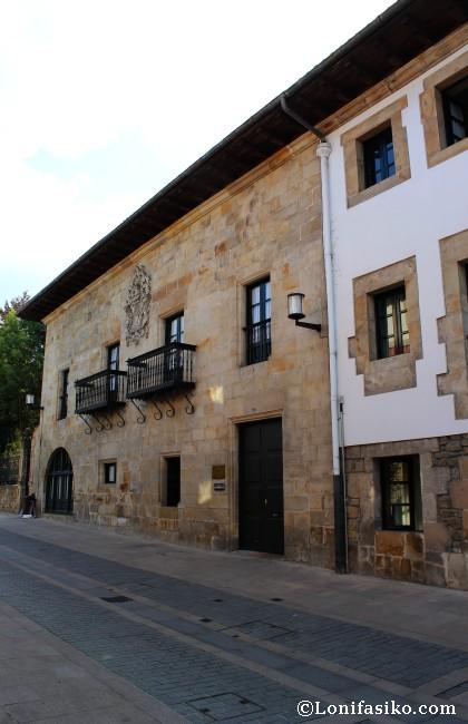 Palacio Otsa, muestra del barroco del siglo XVIII en la villa de Elorrio