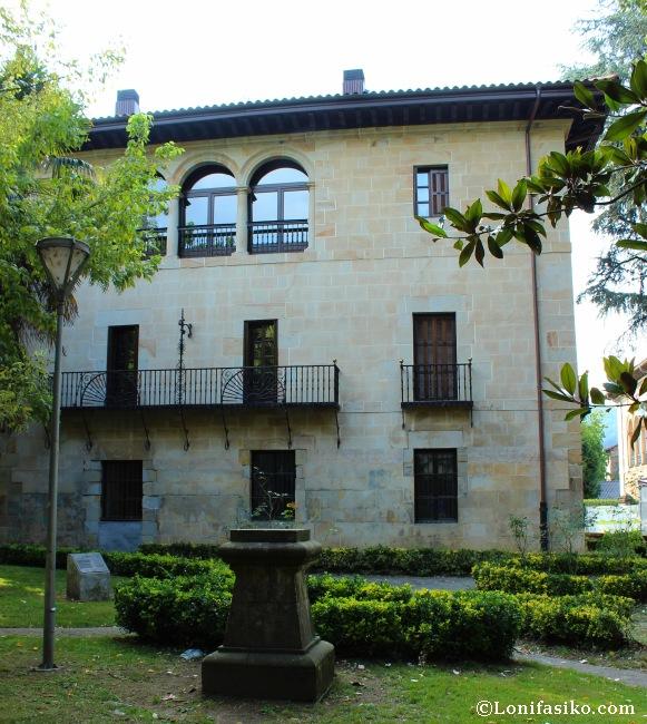Palacio Arespakotxaga-Azkarraga, otra de las propiedades de la adinerada familia