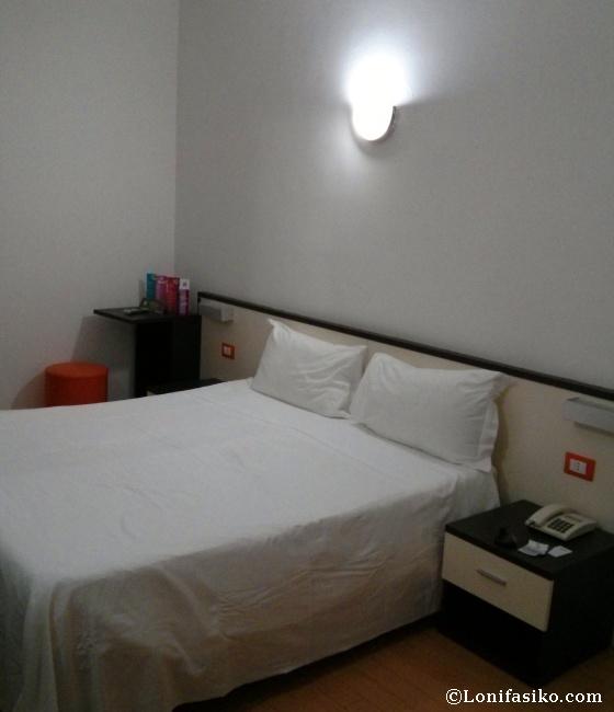 Habitaciones de hotel simples y funcionales, para estar allí el tiempo justo y necesario