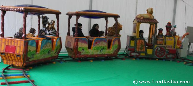 Txiki-park, atracciones para los niños en Ardoaraba