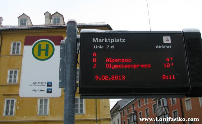 Cómo llegar en transporte público a la estación de esquí de Patscherkofel