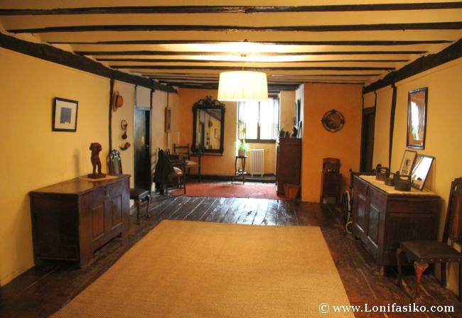 Goiko Benta antiguo caserío vasco