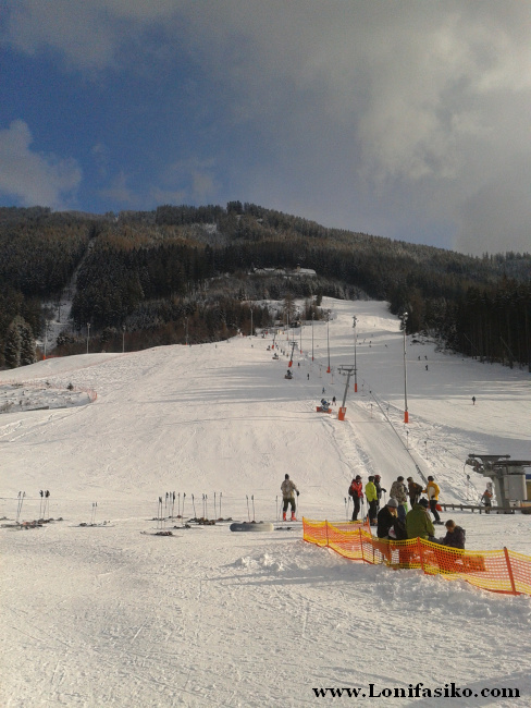 La zona de Olympiaexpress de Patscherkofel es una zona ideal para principiantes
