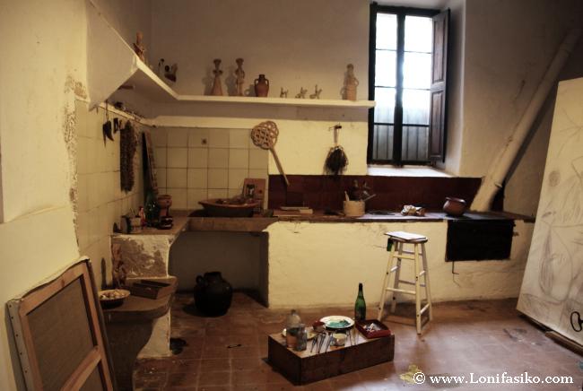 Cocina de la antigua casa de Joan Miró