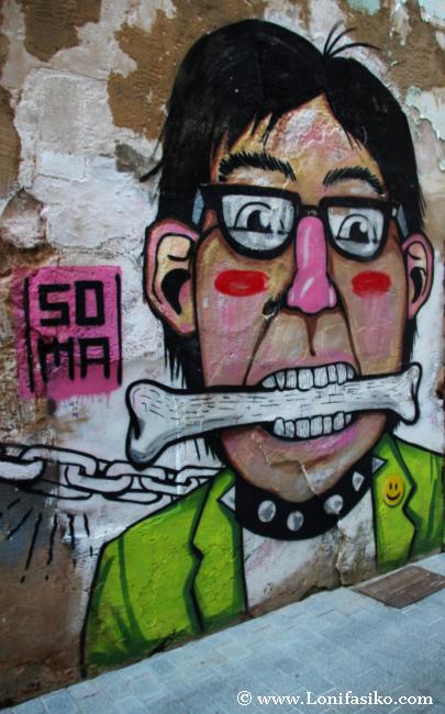Murales con vida propia, street art auténtico, un proyecto de Ses Voltes
