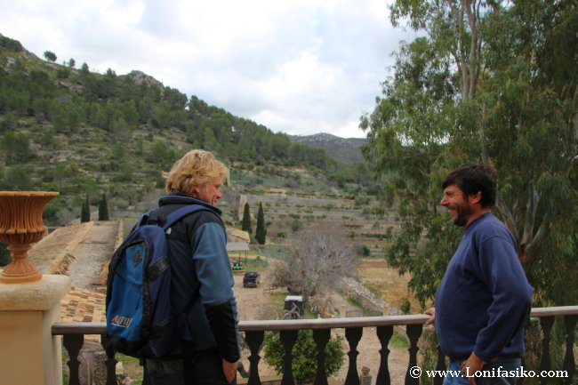 Martin y Biel, impulsores de Gesnatur, entusiastas de la finca pública Es Galatzó