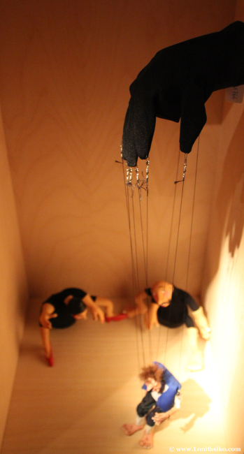 El arte de mover hilo plasmado en el centro Topic de Tolosa