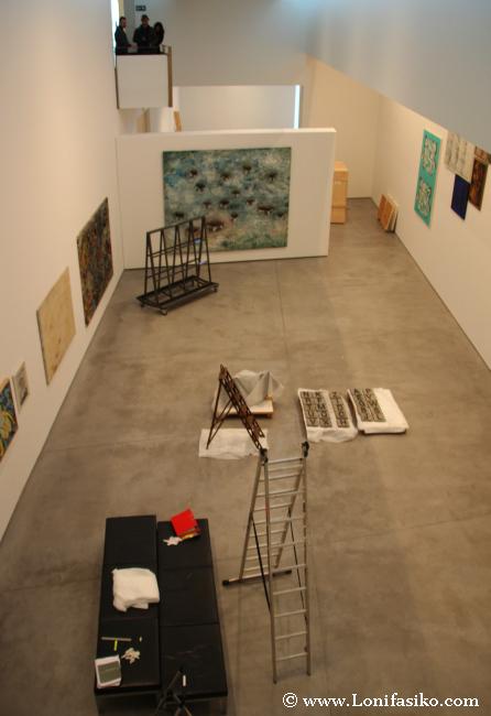 Creación artística en el museo Es Baluard