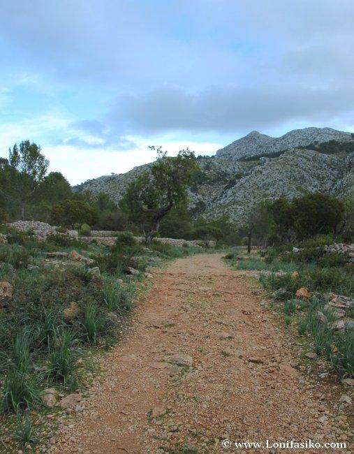 La ruta de senderismo GR-211 atraviesa la finca pública Es Galatzó