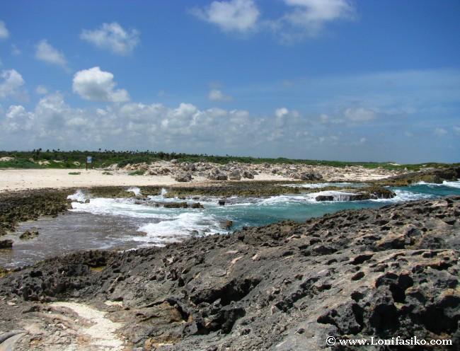 Playas y calas salvajes en Cozumel