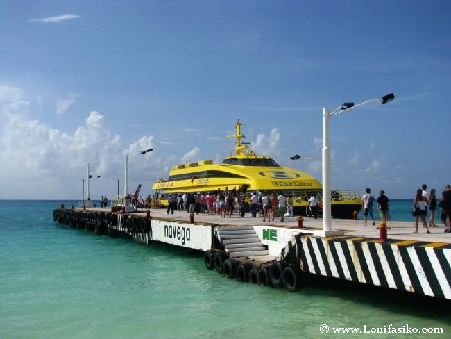 Cómo ir desde Playa del Carmen a Cozumel