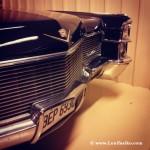 Silueta de Cadillac en Museo Torre Loizaga