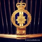 Detalle de Rolls-Royce de lujo en Torre Loizaga