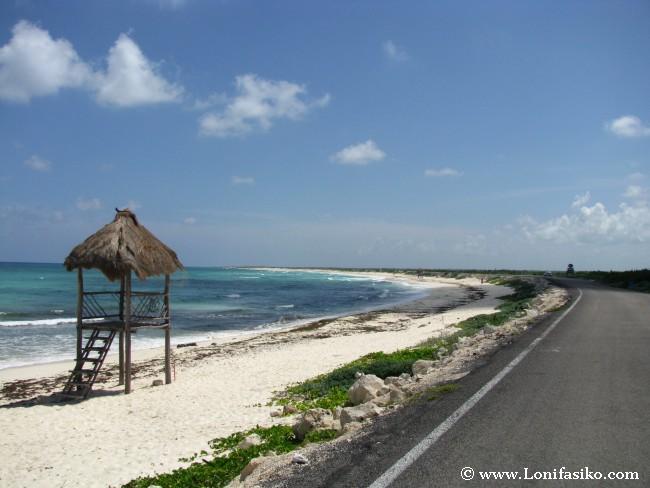 Playa Bonita, una de las mejores playas salvajes en Cozumel