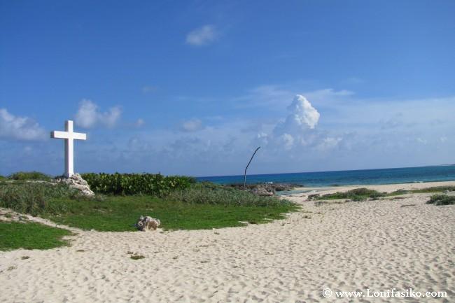 Punta Morena en isla de Cozumel