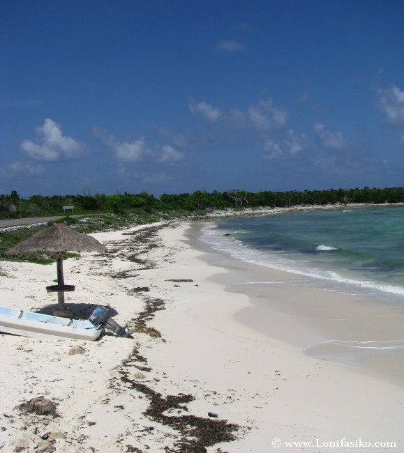 Playas en Cozumel: Playa Bonita