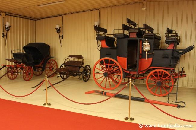 Carruajes de diferentes épocas, un medio de transporte singular