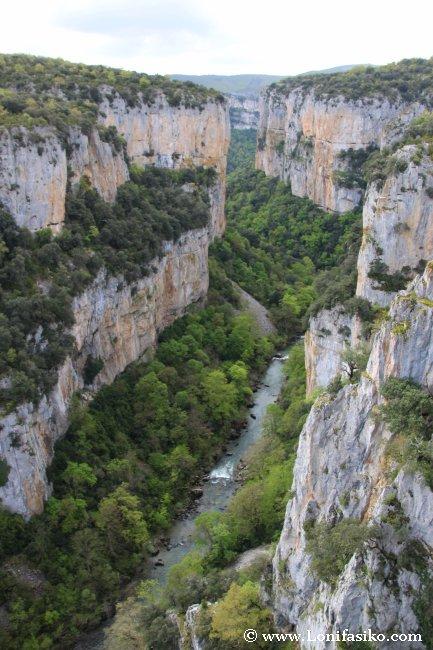 Geología de la Foz de Arbayún/Arbaiun