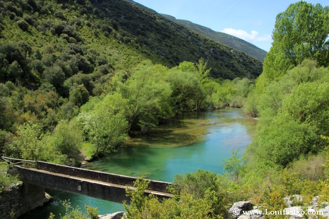 Río Salazar en la foz de Arbayún/Arbaiun