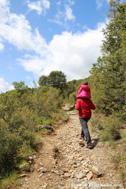 Ruta de senderismo y BTT en la Foz de Arbayún/Arbaiun