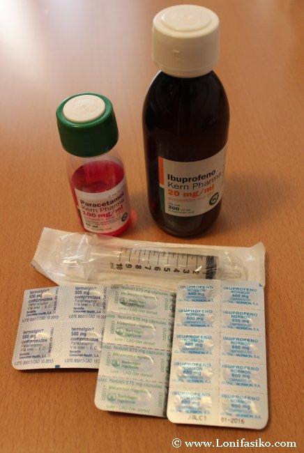 Analgésicos y antiinflamatorios, vitales en cualquier botiquín de viaje básico
