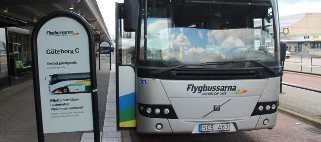 Aeropuertos de Gotemburgo: transporte al centro de la ciudad
