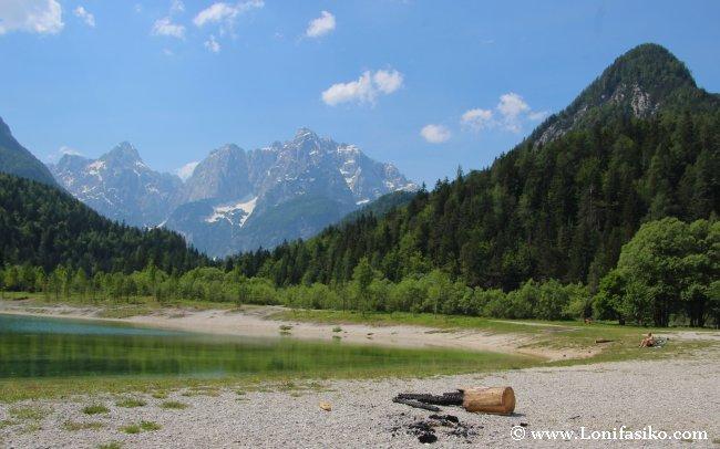 Lago Jazna Kranjska Gora Eslovenia fotos