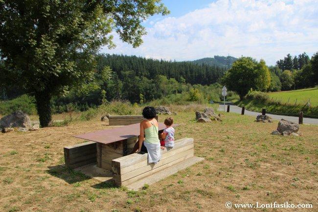Área de descanso de Liernia