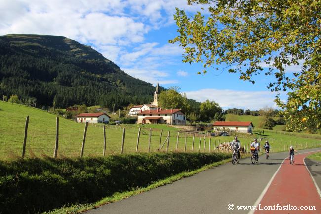 Embalse de Urkulu en bicicleta