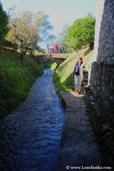 Canal de salida del molino Errotabarri