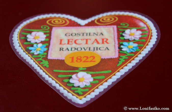 Detalle marketiniano de restaurante Gostilna Lectar de Radovljica