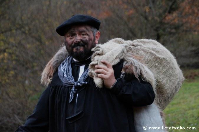 Olentzero, auténtico icono de la Navidad en Euskadi