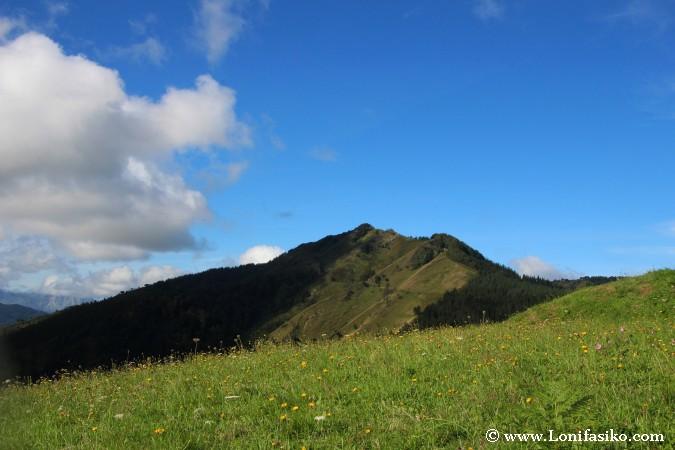 Monte Urko desde Santa Krutz