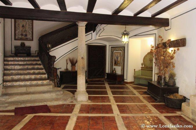 Arquitectura interior en la muy noble Rubielos de Mora
