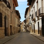 Calles señoriales de Rubielos de Mora