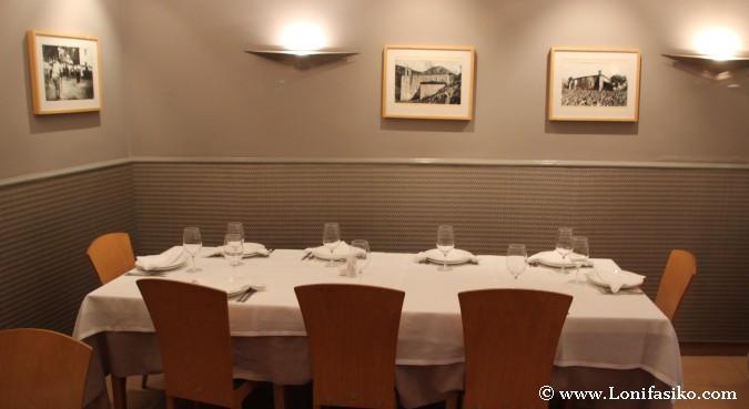 Comedor principal del Restaurante Asador Landa