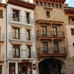 Portal de entrada principal a Mora de Rubielos