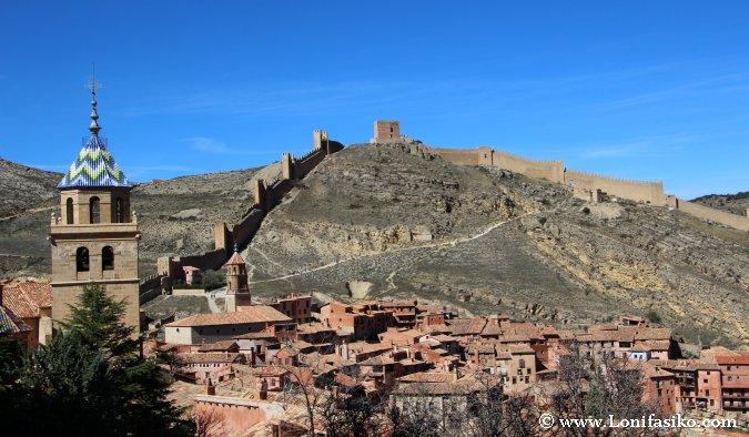 Albarracín y su impresionante perímetro amurallado