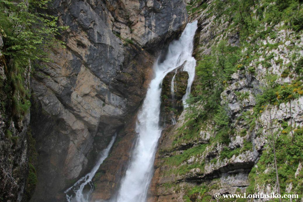 Cascada Savica, la cascada más bonita de Eslovenia