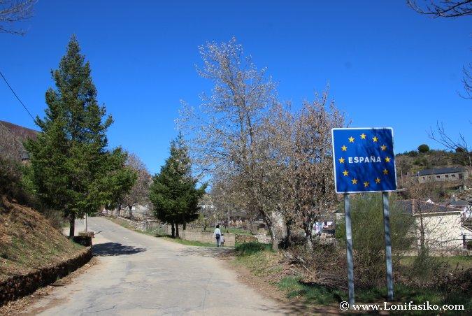 Frontera entre España y Portugal en Zamora
