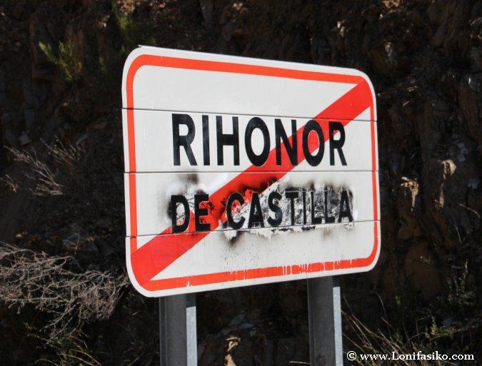 Límites de Rihonor de Castilla