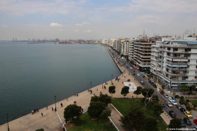 White Tower, el icono o emblema de Salónica