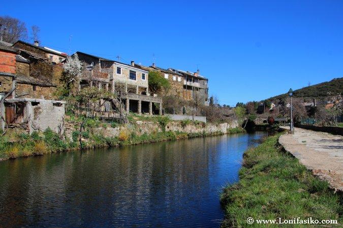 Rio de Onor y el bello río del mismo nombre