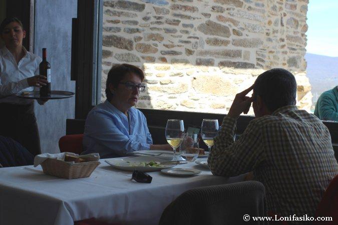 Comedor con terraza