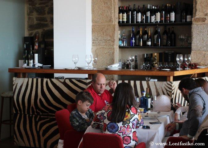Comedor del restaurante Posada de las Misas