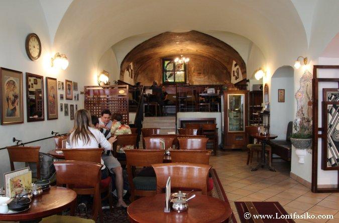 Café clásico en Liubliana