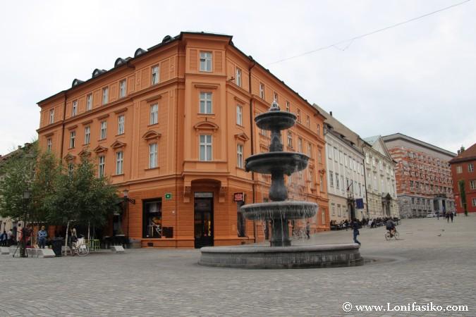 Plaza Novi Trg de Liubliana