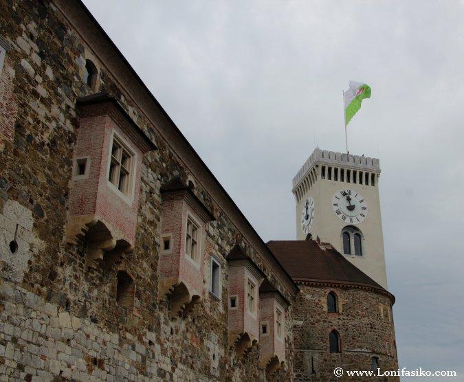 Torre del Reloj del Castillo de Liubliana