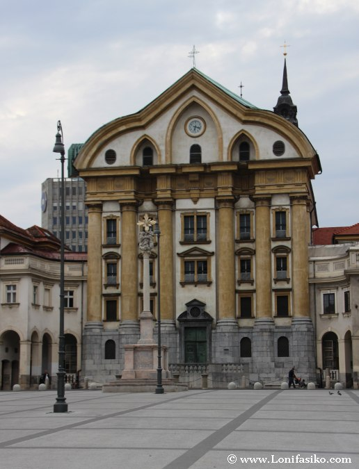Iglesias de Liubliana: Ursulinas de la Santísima Trinidad